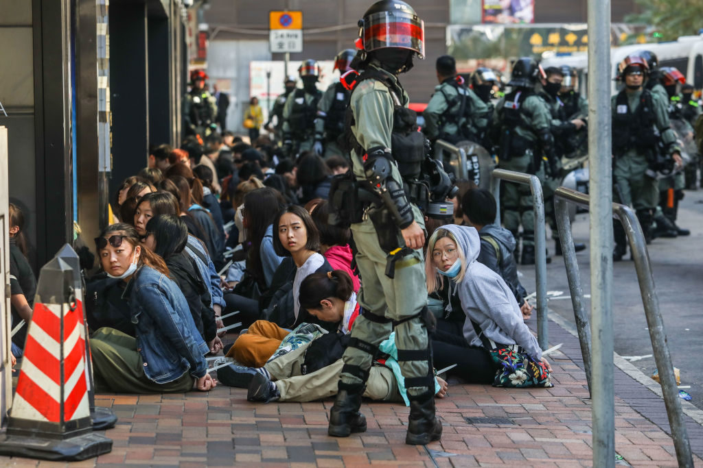 White House Condemns 'Unjustified Use of Force' by Hong Kong Police as Hundreds ArrestedHong Kong…
