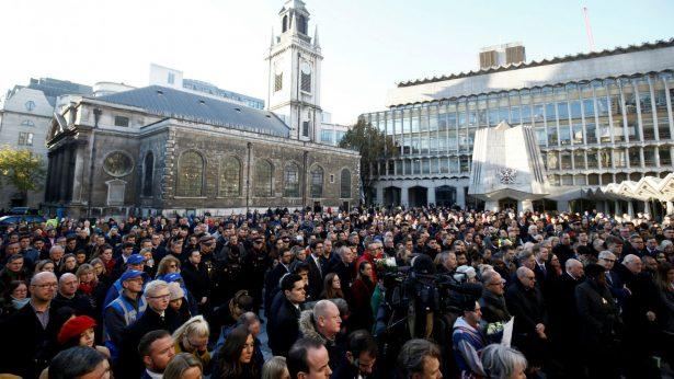 London public attend Vigil