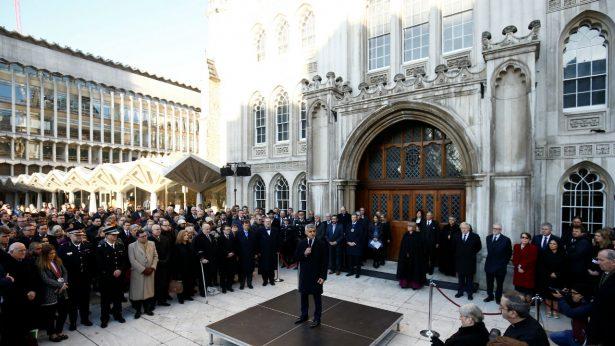 Mayor of London speaks at Vigil