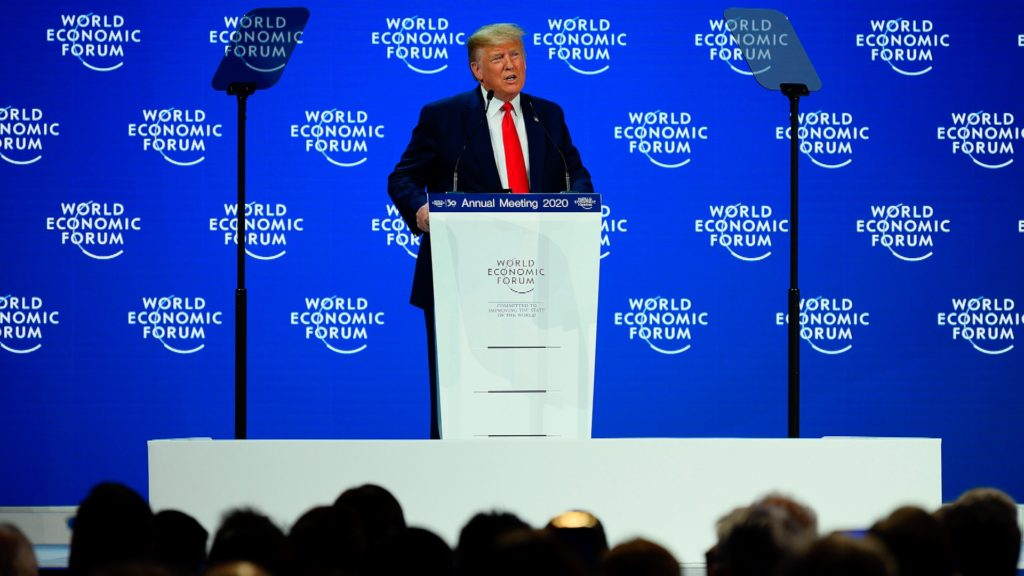 Trump at Davos 2020: America Is 'In the Midst of an Economic Boom'