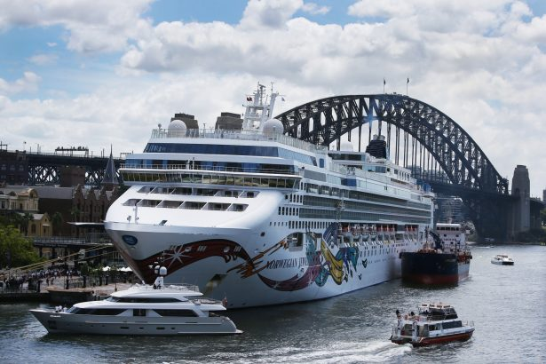 The Norwegian Jewel cruise ship is in lock down while health authorities test a man