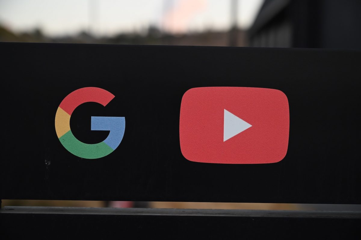 The Google and YouTube logos