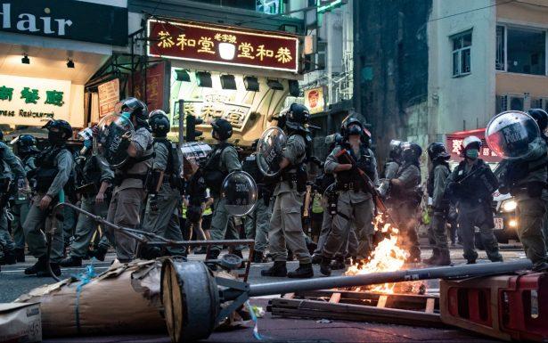 HK Riot police